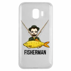 Чохол для Samsung J2 2018 Fisherman and fish