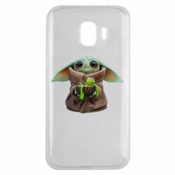 Чохол для Samsung J2 2018 Grogu and Kermit