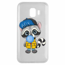 Чехол для Samsung J2 2018 Little raccoon