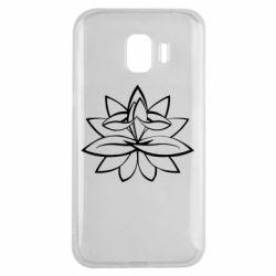 Чохол для Samsung J2 2018 Lotus yoga