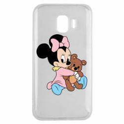 Чохол для Samsung J2 2018 Minnie And Bear