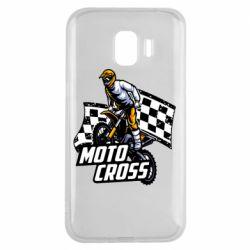 Чехол для Samsung J2 2018 Motocross