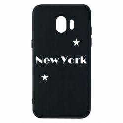Чехол для Samsung J2 2018 New York and stars