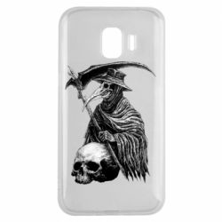 Чехол для Samsung J2 2018 Plague Doctor graphic arts