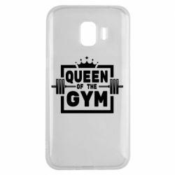 Чохол для Samsung J2 2018 Queen Of The Gym