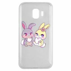 Чохол для Samsung J2 2018 Rabbits In Love