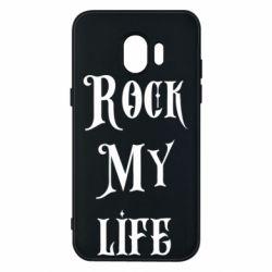 Чехол для Samsung J2 2018 Rock my life