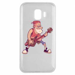 Чохол для Samsung J2 2018 Rock'n'roll Santa