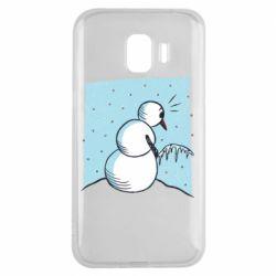 Чохол для Samsung J2 2018 Snowman. It's Cold!