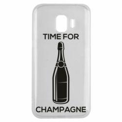 Чохол для Samsung J2 2018 Time for champagne