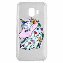 Чохол для Samsung J2 2018 Unicorn Princess