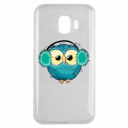 Чехол для Samsung J2 2018 Winter owl