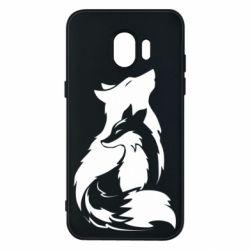 Чехол для Samsung J2 2018 Wolf And Fox