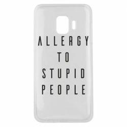 Чохол для Samsung J2 Core Allergy To Stupid People