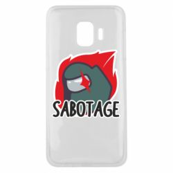 Чохол для Samsung J2 Core Among Us Sabotage