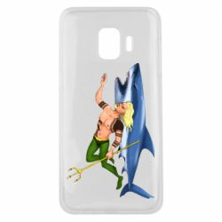 Чехол для Samsung J2 Core Aquaman with a shark