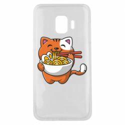 Чохол для Samsung J2 Core Cat and Ramen