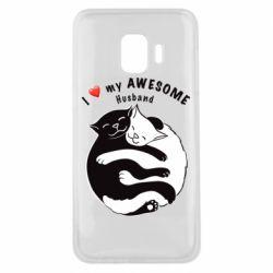 Чехол для Samsung J2 Core Cats and love
