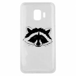 Чохол для Samsung J2 Core Cute raccoon face