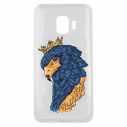 Чехол для Samsung J2 Core Eagle with a crown on its head
