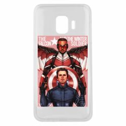 Чохол для Samsung J2 Core Falcon and the Winter Soldier Art