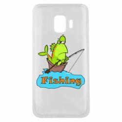 Чехол для Samsung J2 Core Fish Fishing
