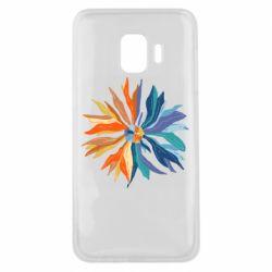 Чохол для Samsung J2 Core Flower coat of arms of Ukraine