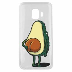 Чохол для Samsung J2 Core Funny avocado