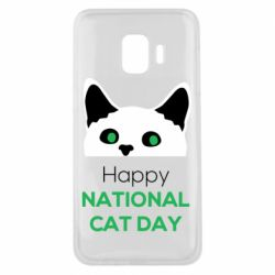 Чехол для Samsung J2 Core Happy National Cat Day
