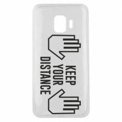 Чохол для Samsung J2 Core Keep your distance