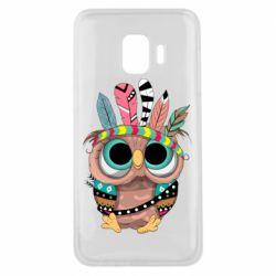 Чохол для Samsung J2 Core Little owl with feathers