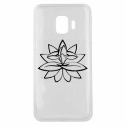 Чохол для Samsung J2 Core Lotus yoga