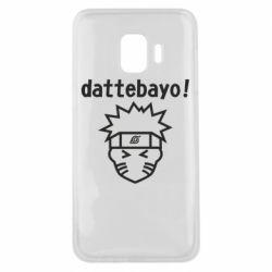 Чохол для Samsung J2 Core Naruto dattebayo!