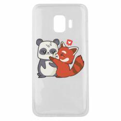 Чохол для Samsung J2 Core Panda and fire panda