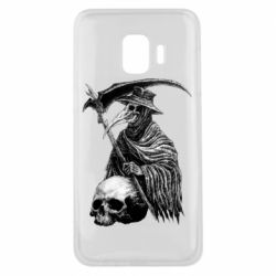 Чехол для Samsung J2 Core Plague Doctor graphic arts