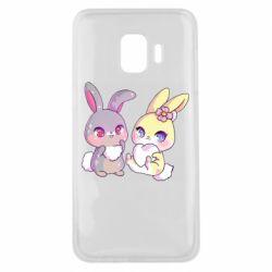 Чохол для Samsung J2 Core Rabbits In Love
