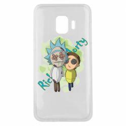 Чохол для Samsung J2 Core Rick and Morty voodoo doll