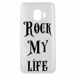 Чехол для Samsung J2 Core Rock my life