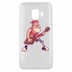 Чохол для Samsung J2 Core Rock'n'roll Santa