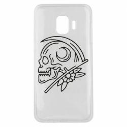 Чохол для Samsung J2 Core Skull with scythe