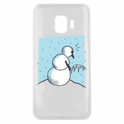 Чохол для Samsung J2 Core Snowman. It's Cold!