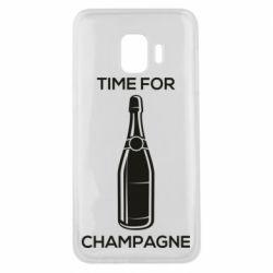 Чохол для Samsung J2 Core Time for champagne