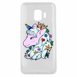 Чохол для Samsung J2 Core Unicorn Princess