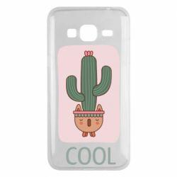 Чехол для Samsung J3 2016 Cactus art