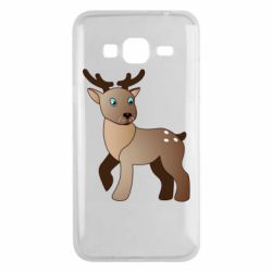 Чехол для Samsung J3 2016 Cartoon deer