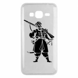 Чехол для Samsung J3 2016 Cossack with a gun