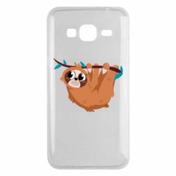 Чохол для Samsung J3 2016 Cute sloth