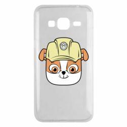 Чохол для Samsung J3 2016 Dog in helmet
