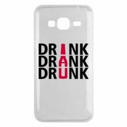 Чехол для Samsung J3 2016 Drink Drank Drunk