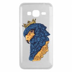 Чехол для Samsung J3 2016 Eagle with a crown on its head